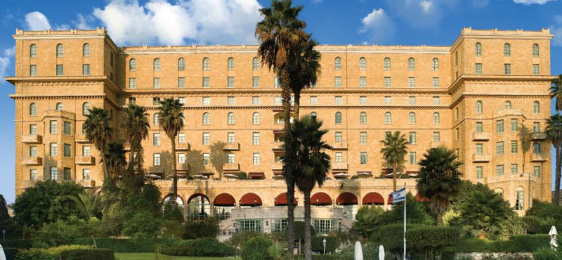 The King David Hotel Jerusalem