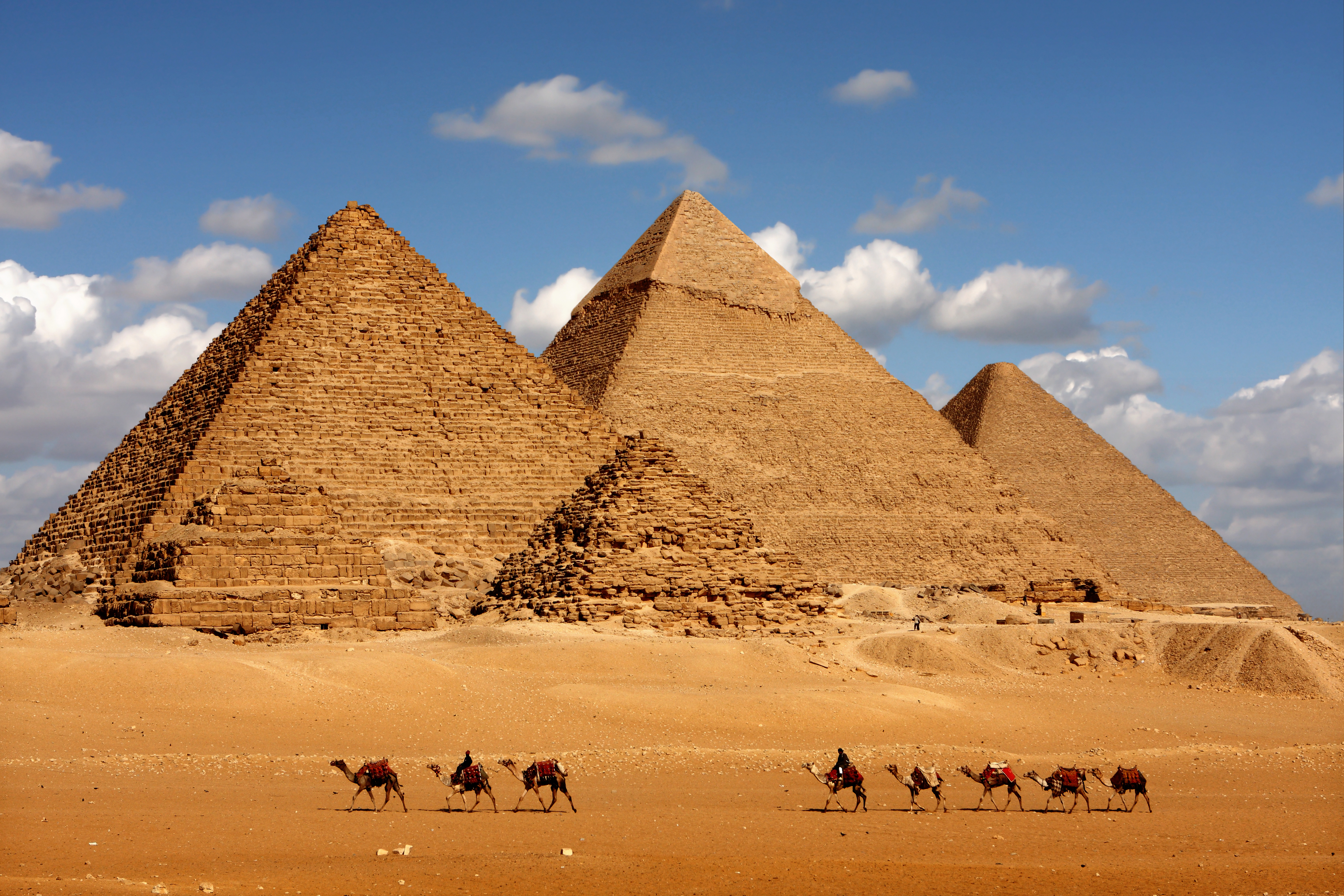 CAIRO AND THE GREAT PYRAMIDS